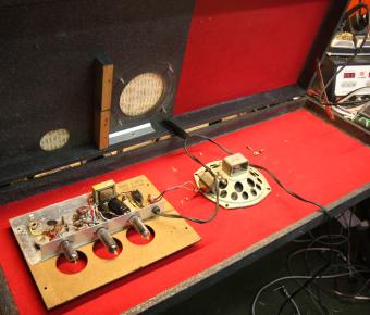 Silvertone Amp-In-Case