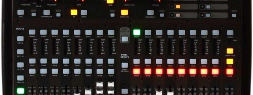 Behringer X32 producer ei käynnisty