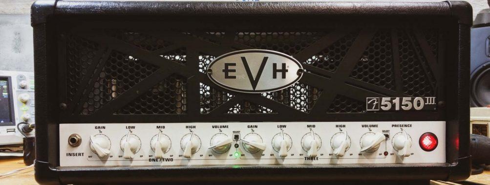EVH 5150 – Irronnut vastus virtalähteessä