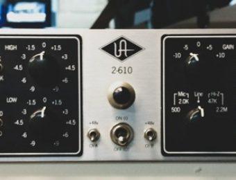 Universal Audio Tube Pre Amp 610